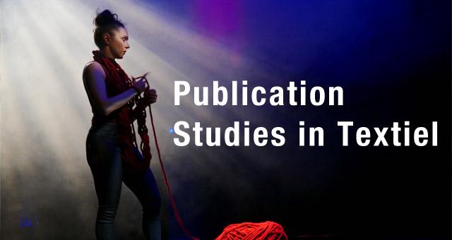 """Studies in Textiel"" publication"