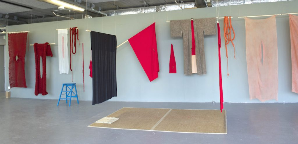 Red and Empty installation